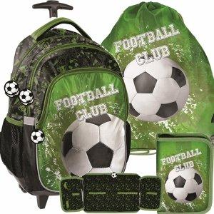Plecak z Kółkami Piłka Nożna dla Chłopaka do Szkoły [PP20FO-997]