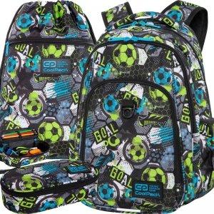 Plecak CP CoolPack dla Chłopaka z Piłką Nowoczesny Patio [C18230]