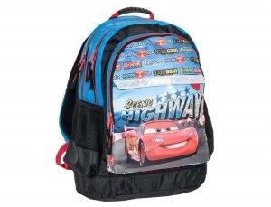 Plecak Szkolny Auta Zygzak Cars Auto do Szkoły dla Chłopaka DAK-116