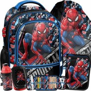 Spider Man Plecak Szkolny dla Chłopaków do Szkoły Podstawowej [SPW-260]