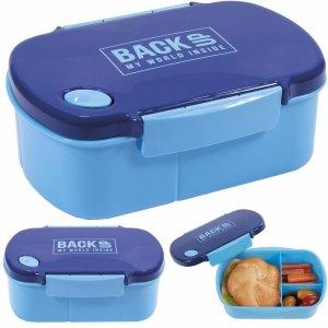 Śniadaniówka Pojemnik na Śniadanie Lunch Free BPA Niebieska [SB4B58]