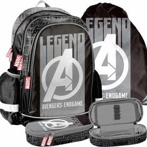 Avengers Plecak Szkolny w Komplecie 3w1 dla Chłopaków [AMAL-081]