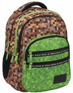 Minecraft Plecak BackUP Szkolny Piksele Gra Gry [PLB2M69]