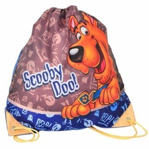 Worek Scooby Doo Szkolny na Wf Obuwie Kapcie Chłopięcy [SDD-712]