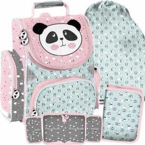 Tornister do Szkoły dla Dziewczynek Misie Panda [PP21PD-525]
