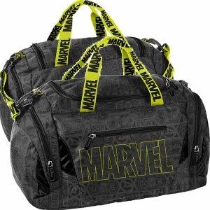 Marvel Szara Torba Sportowa Podróżna na Trening Siłownię Fitness [AMAV-019]