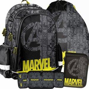 Avengers Plecak Chłopaka do Szkoły Kapitan Ameryka Iron Man [ANA-081]