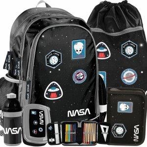 Plecak dla Chłopaków Uczenia Naszywki Nasa Paso [PP20NS-081]