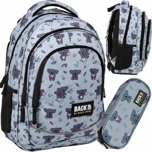 Plecak Miś Koala BackUP Szkolny Młodzieżowy Derform [PLB3X15]