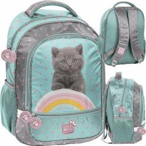 Kotek Plecak Szkolny dla Dziewczynki do 1 klasy [PTL-260]