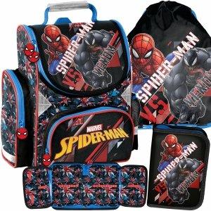 Szkolny Dziecięcy Tornister Venom dla Chłopaków do 1 Klasy Spiderman [SPX-525]