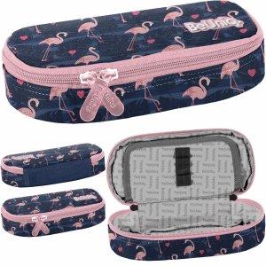 Flamingi dla Dziewczynki Piórnik Szkolny Młodzieżowy BeUniq [PPNG20-013]