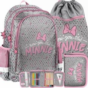 Plecak dla Dziewczynki Uczennicy Myszka Minnie Paso [DNF-081]