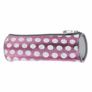 Piórnik Tuba Szkolny dla Dziewczyny Różowy Paso [18-003PI]