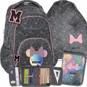 Modny Plecak Myszka Minnie Paso dla Uczennicy [DMNA-2708]