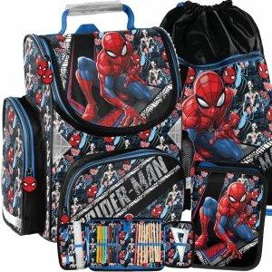 Tornister SpiderMan do 1 Klasy dla Chłopaka Szkolny [SPW-525]