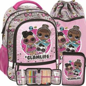 Plecak Lol Surprise Szkolny do 1 Klasy dla Dziewczynki Paso [LOD-260]