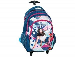 Plecak na Kółkach Soy Luna Szkolny dla Dziewczyny DLB-997