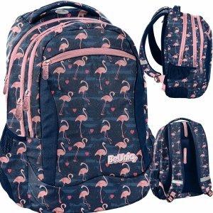 Flamingi Plecak Młodzieżowy Szkolny Dziewczęcy [PPNG20-2808]