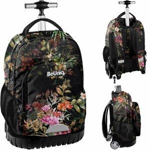 Plecak na Kółkach Duży w Kwiaty Młodzieżowy Szkolny [PPRS20-1231]