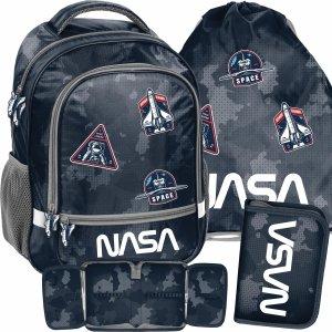 Chłopięcy Plecak Nasa Szkolny Kosmos do 1 klasy Paso [PP21NA-260]