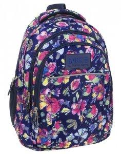 Plecak Kwiaty Młodzieżowy BackUP Szkolny [PLB1H7]