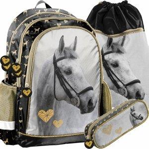 Plecak do Szkoły Siwy Koń Dziewczęcy do 1 Klasy [PP20H-081]