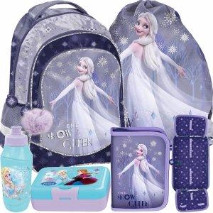 Dziewczęcy Komplet Kraina Lodu Plecak Szkolny Frozen Paso [DOK-181]