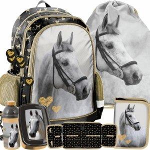 Plecak Dziewczęcy do Szkoły Modny z Koniem Paso [PP20H-081]