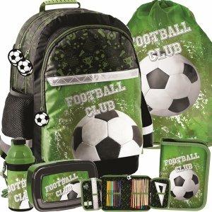 Duży Plecak Szkolny Piłka Nożna dla Chłpaka Paso [PP20FO-116]