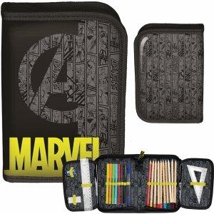 Z Wyposażeniem Piórnik Avengers dla Chłopaków Rozkładany [ANA-001]