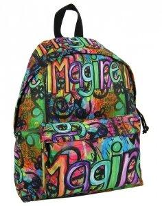 Plecak Vintage dla Młodzieży Szkolny dla Dziewczynki [16J 08]