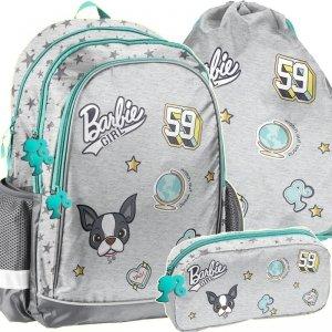 Szkolny Plecak Barbie Zestaw dla Dziewczynki [BAR-081]