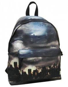 Idealny Plecak Vintage Młodzieżowy Derform Miasto [16J 01]