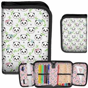 Piórnik Misie Panda dla Dziewczyny z Wyposażeniem [PP21PN-001]