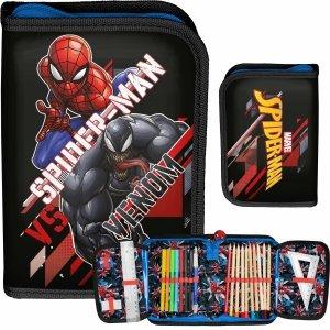 Piórnik Spider Man z Wyposażeniem Chłopięcy Paso Venom [SPX-001]