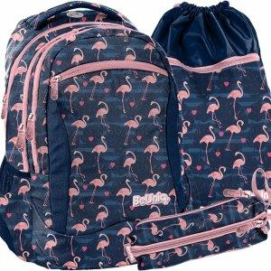 Nowy Flamingi Plecak Młodzieżowy Szkolny Dziewczęcy [PPNG20-2808]