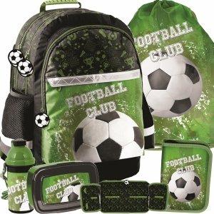 Piłkarski Plecak dla Chłopaka Szkolny Zestaw z Piłką Football [PP20FO-116]