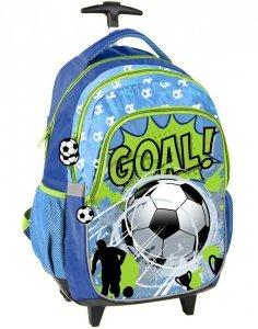 Plecak na Kółkach Piłka Nożna Football dla Chłopaka [PP19PI-997]