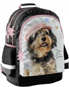 Plecak Szkolny z Pieskiem dla Dziewczynki [RLF-116]