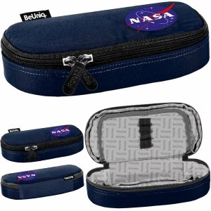 Piórnik NASA Usztywniany Szkolny Młodzieżowy BeUniq [PPRR20-013]