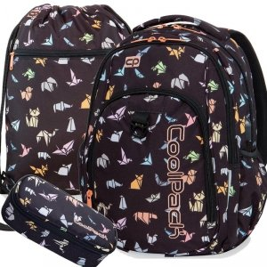 Modny Plecak Cp CoolPack Origami dla Nastolatki [B18042]