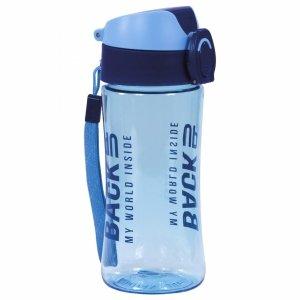 Bidon Butelka na Picie Backup Tritanum Free BPA Niebieski [BB4A]