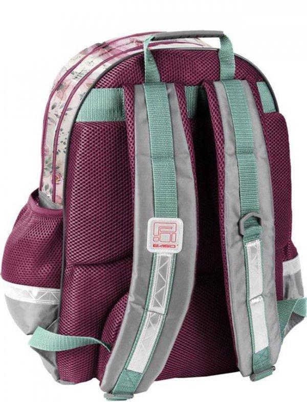 Plecak Szkolny z Pieskiem dla Dziewczyny [18-116PS]