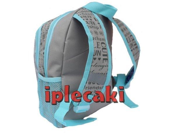plecaczek przedszkolny na wycieczki z pieskiem dla dziewczyny dla przedszkolaka