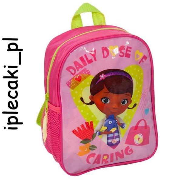 plecak wycieczkowy dla dziewczyny doktor dosia plecaczek