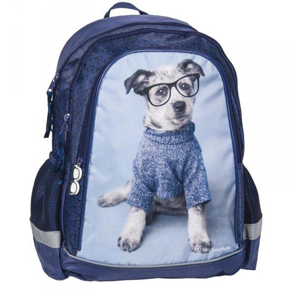 Plecak Szkolny z Pieskiem Pies dla Dziewczyny rho-081