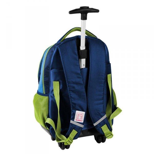 Plecak na Kółkach z Piłką Szkolny dla Chłopaka Paso