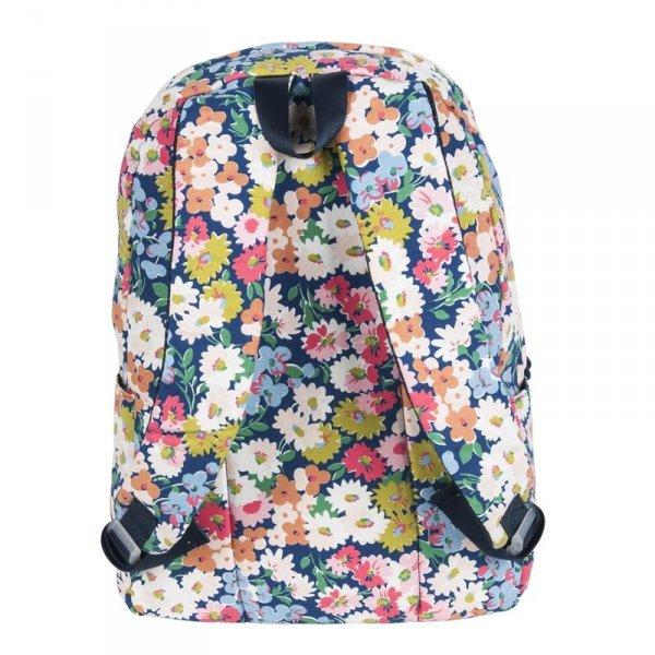 Plecak Kwiatowy Vintage dla Dziewczyny Młodzieżowy Szkolny 17-223FPlecak Kwiatowy Vintage dla Dziewczyny Młodzieżowy Szkolny 17-223F