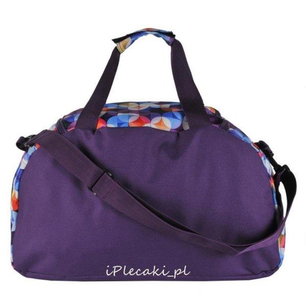 torba na pasku fioletowa